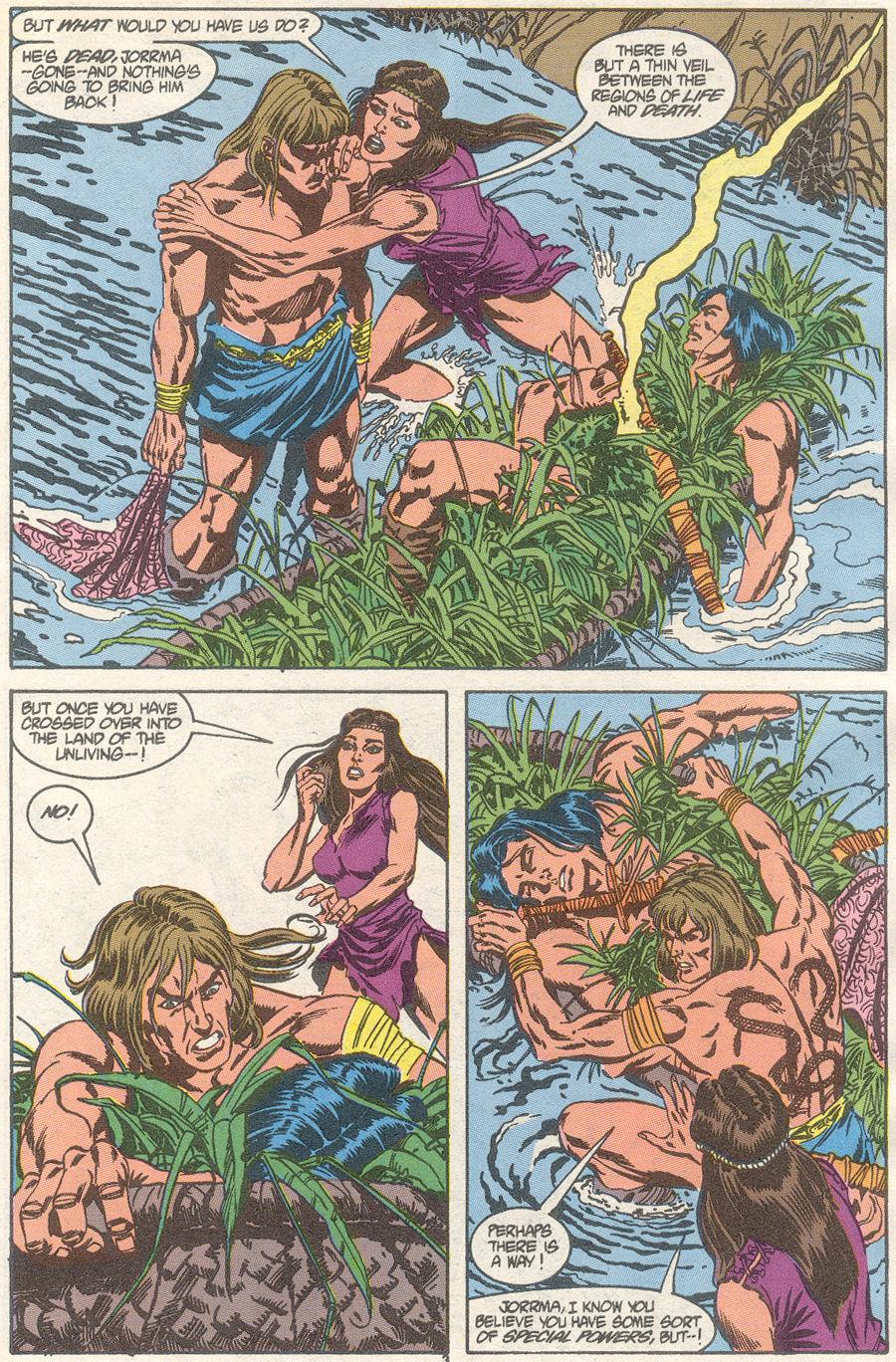 Conan the Barbarian (1970) Issue #239 #251 - English 4