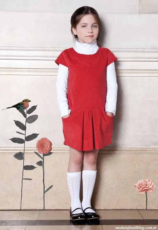 vestidos niñas otoño invierno 2014
