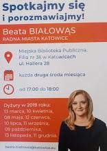 Dyżur radnej Beaty Białowąs