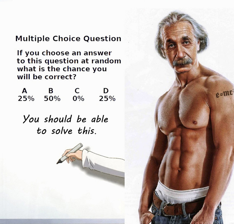 Multiple Choice Question - You Should Be Able To Solve This