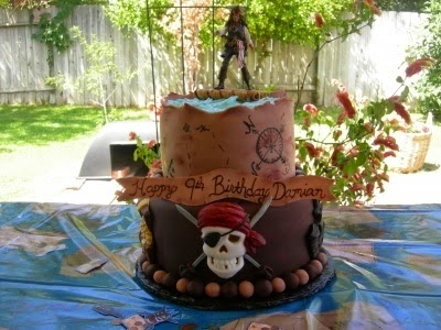 Tortas Piratas del Caribe, parte 2