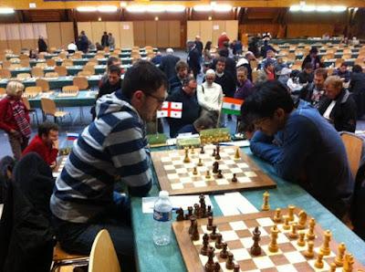Echecs & Finale : Sanikidze 0-1 Harikrishna - Ronde 4