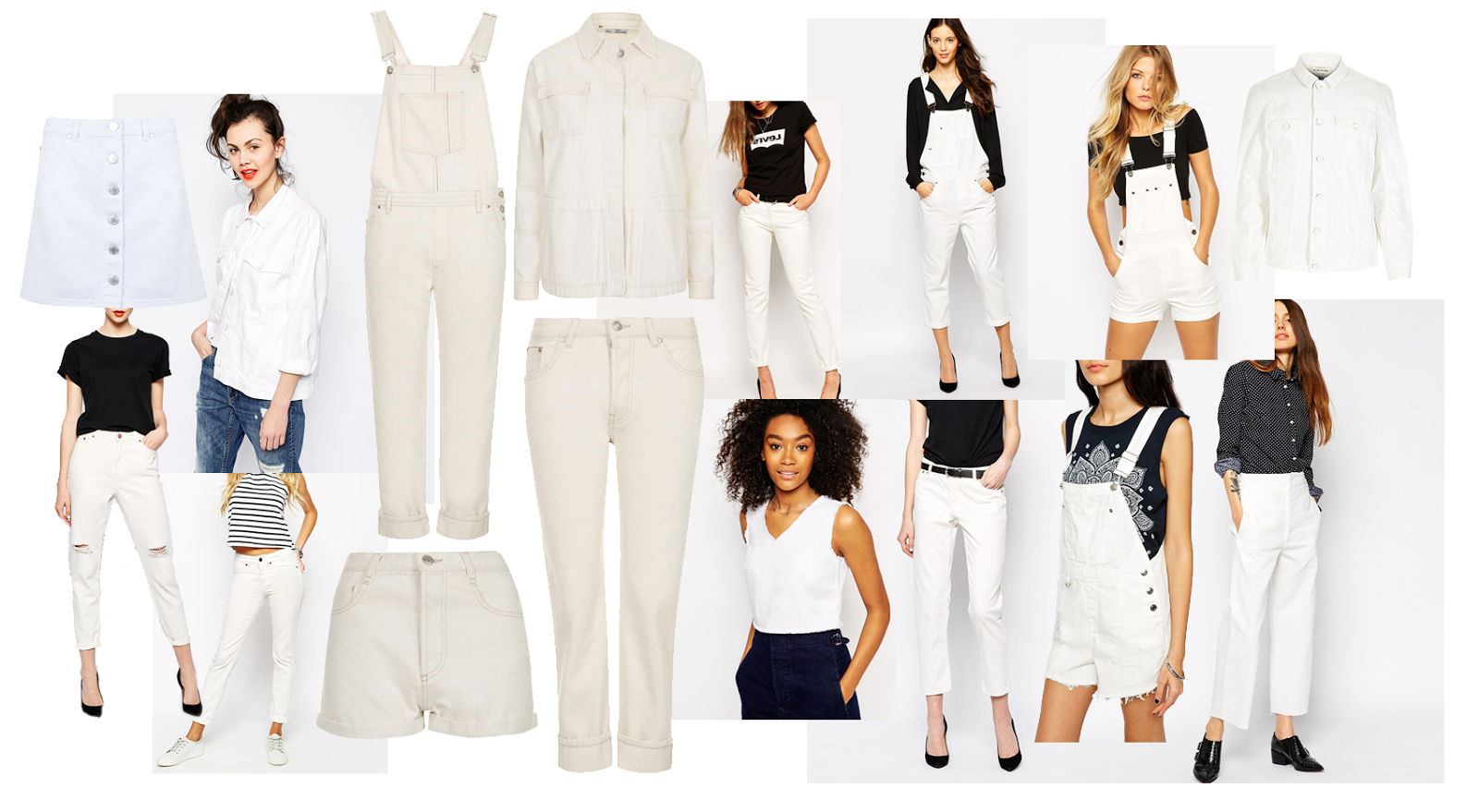 white denim wishlist