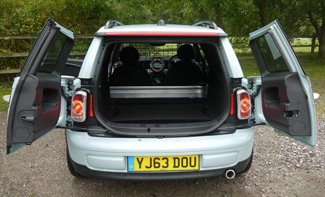 Mini Clubvan cargo hold
