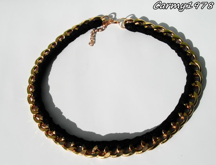 collana-catena-oro-nero