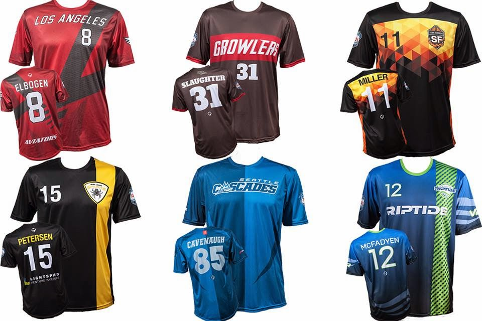 Sludge Output  Audl 2015 Jerseys