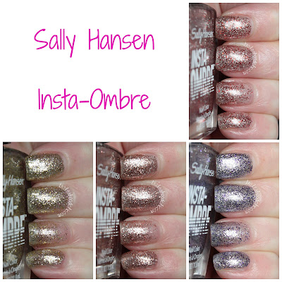 sally hansen insta ombre review swatches