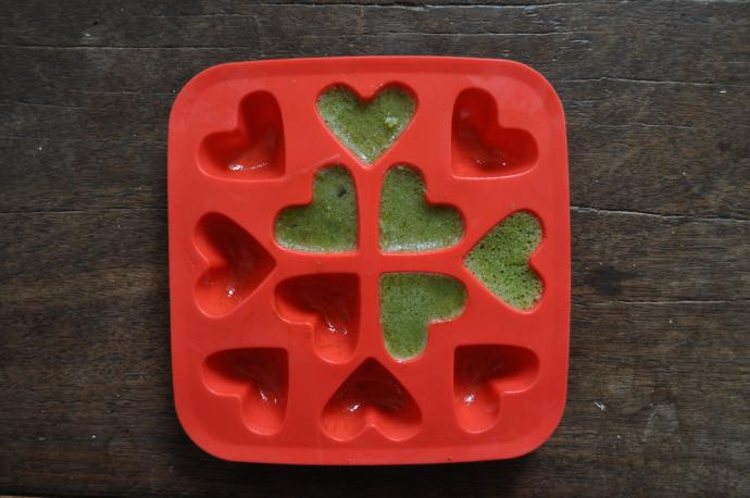 IKEA heart-shaped ice tray