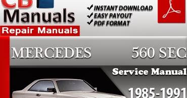 mercedes 560 sec manual
