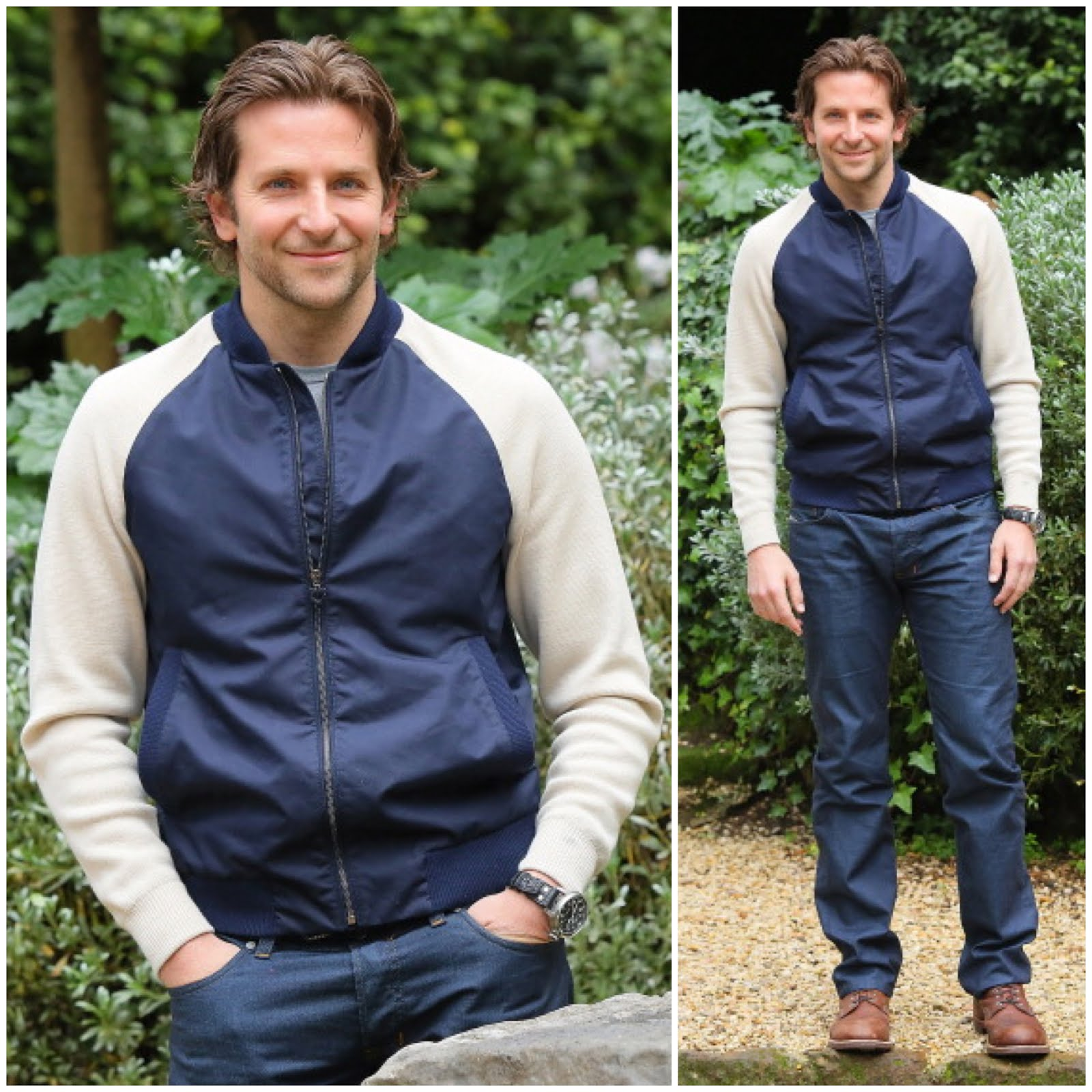00O00 Menswear Blog Bradley Cooper in Salvatore Ferragamo - 'Silver Linings Playbook' photocall, Rome
