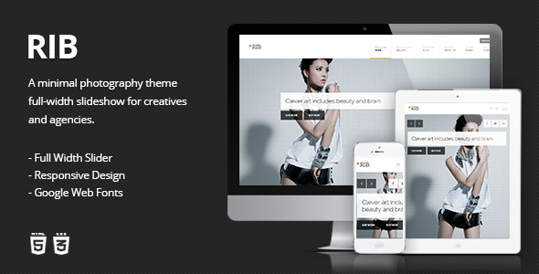 15+ Creative Photography Website HTML/HTML5 Templates - Postvide
