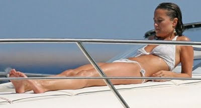 Pippa Middleton Sunbathing