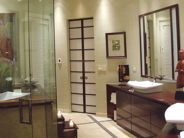 Bathroom Design Glass Tile