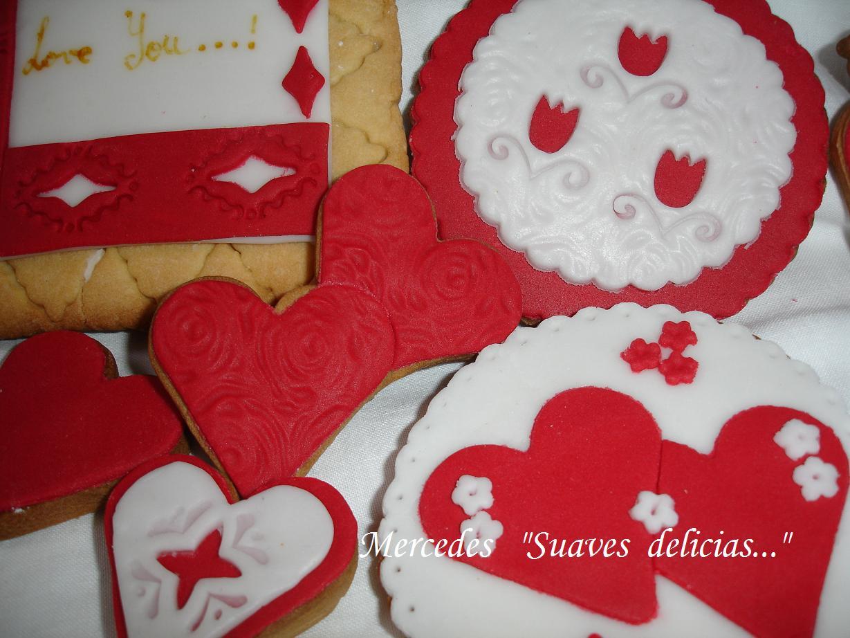 Decoraciones galletas masmelos san valentin suaves - Decoraciones para san valentin ...