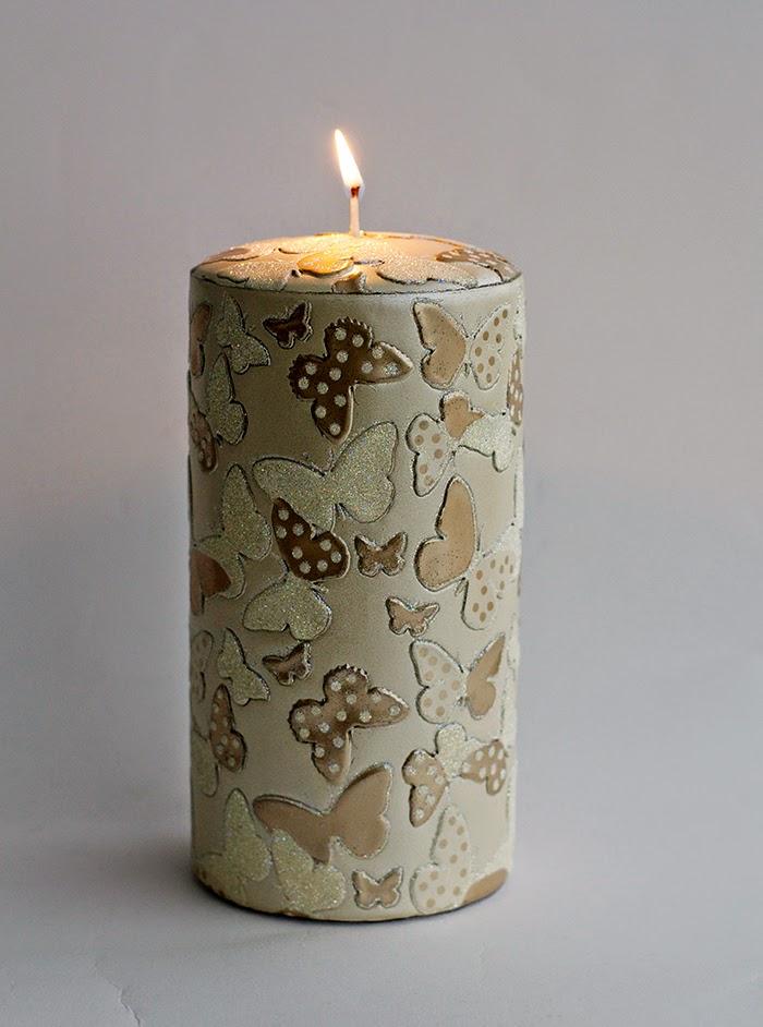 candela farfalle