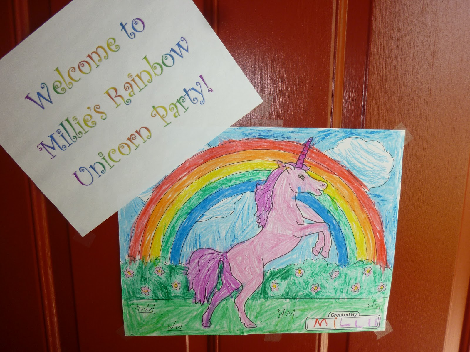 Coloring pages unicorn rainbow - Unicorn Rainbow Coloring Pages We Had Unicorn Coloring Pages Ready For The Girls To Work