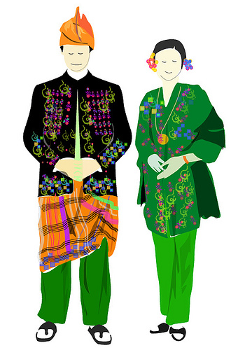 Malaysian Traditional Dress