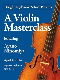 Click the image for photos of the Violin Masterclass