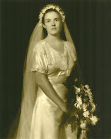 Edith Thacher (Dane) - Wedding Day