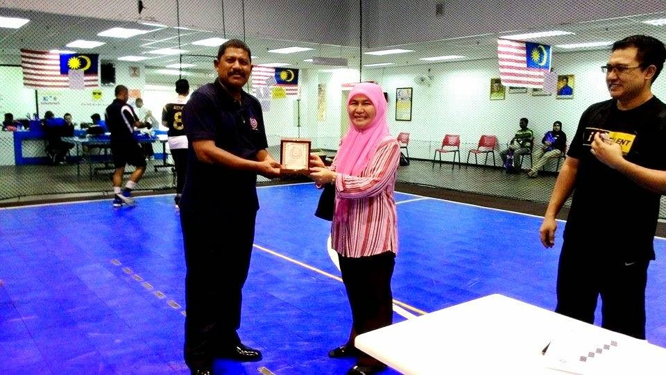 KIP Zamri Parol WPKL dan Pn. Suhaila Jabatan Belia Dan Sukan Kuala Lumpur