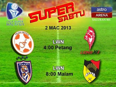 Live Streaming Darul Takzim vs Negeri Sembilan 2 Mac 2013