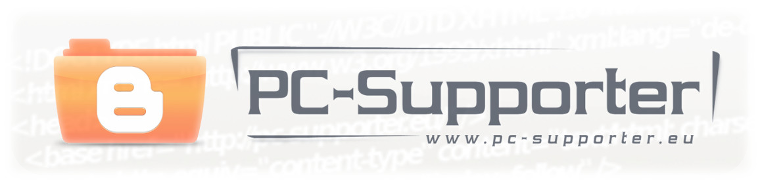 PC-Supporter 2.0 - Blog