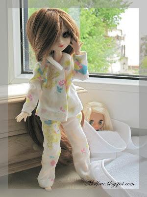 Little Pullip w piżamie