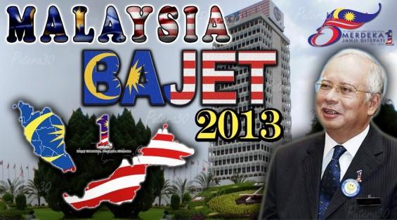 Teks Ucapan Najib Bajet 2013