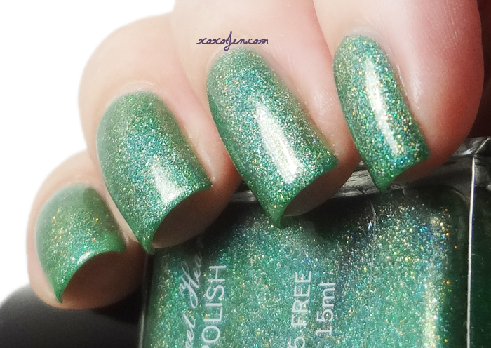 xoxoJen's swatch of Sweet Heart Polish Hot August Nights