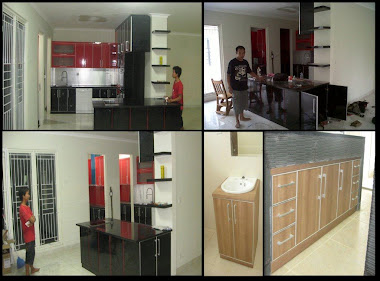 Kitchen set mbak Diana Lipo Cikarang