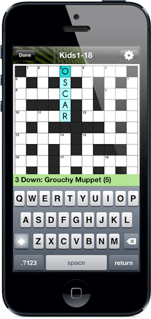 Crosswords for Kids screen