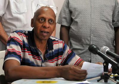 """Guillermo Fariñas detido """"com violência"""" no domingo mas já libertado - oposição cubana"""