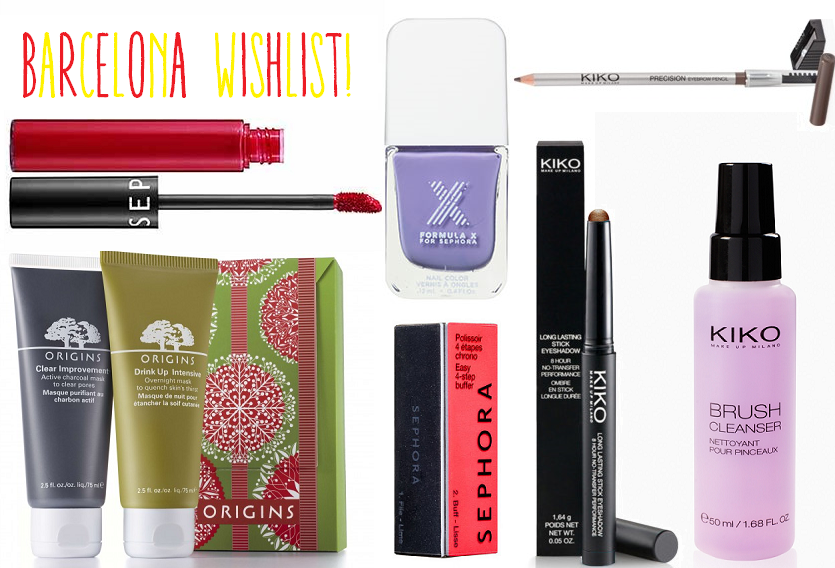 Barcelona Beauty Wishlist