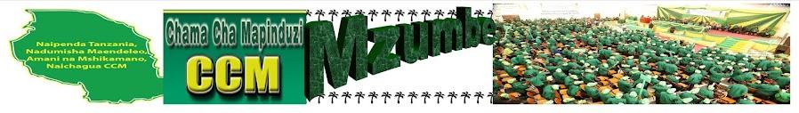 CCM TAWI MAALUM MZUMBE