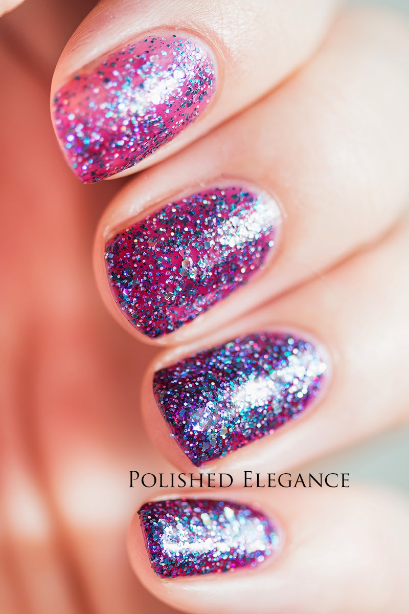 Shimmer Polish - Cleo swatch review