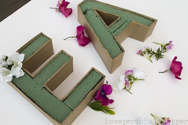 diy-manualidades con flores homepersonalshopper