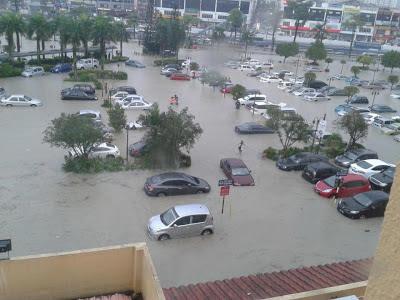 Puchong Alami Banjir Kilat Terburuk