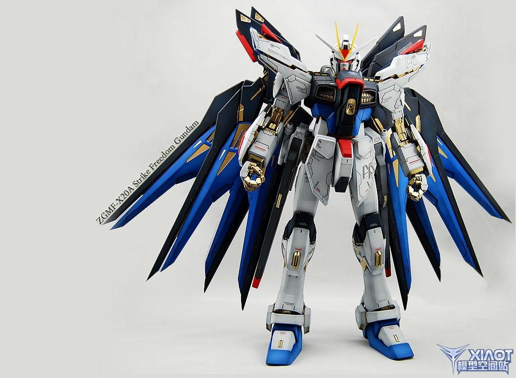 Custom Build: PG 1/60 ZGMF-X20A Strike Freedom Gundam ...