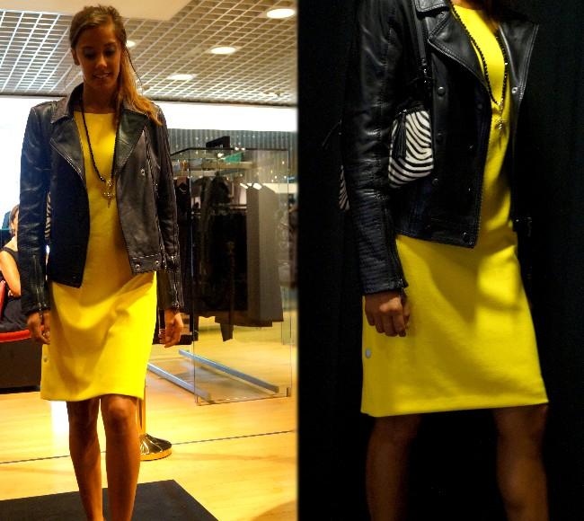 Robe jaune caroll 2015