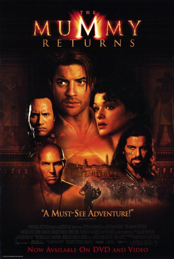 The mummy returns (La momia regresa) (El regreso de la momia) (2001) Español Latino