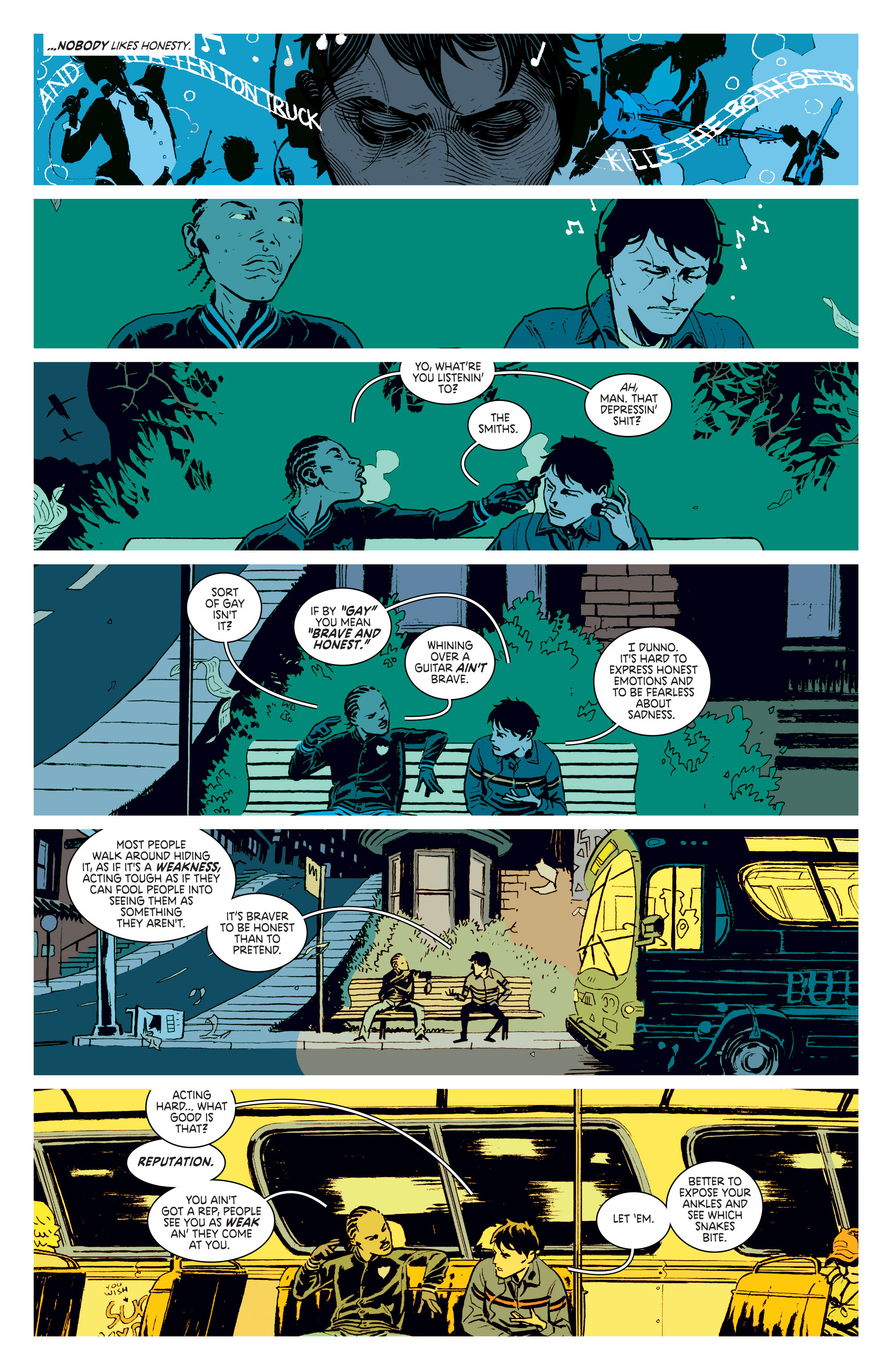 Read online Deadly Class comic -  Issue #3 - 10