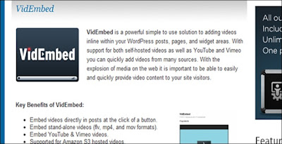 VidEmbed_WordPrees_Plugin