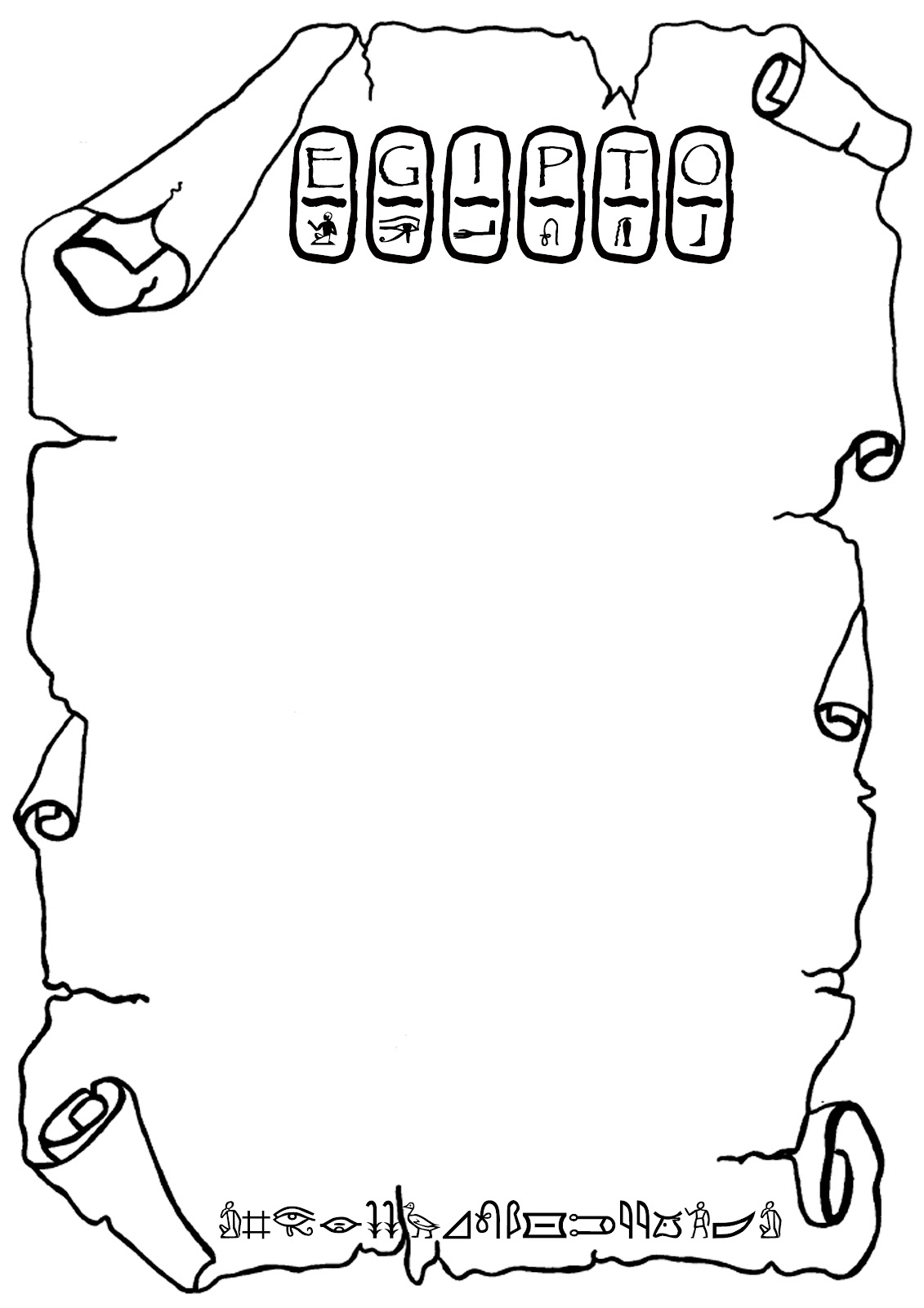 EGIPTO día 11: Hilo conductor: Arte: Los Escribas y los Jeroglíficos
