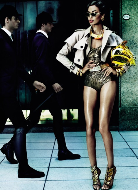 Joan Smalls by Mario Testino for Vogue Brazil