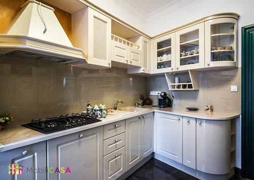 bucătărie antichizată