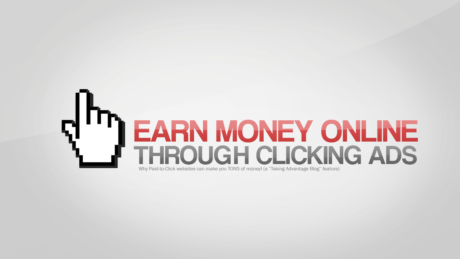 how to earn money by clicking ad