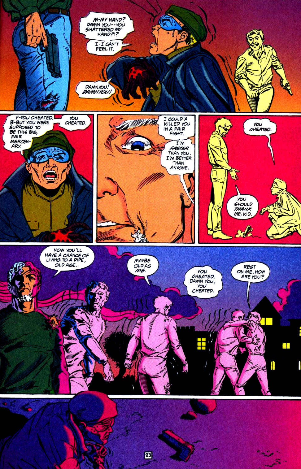 Deathstroke (1991) Issue #35 #40 - English 24