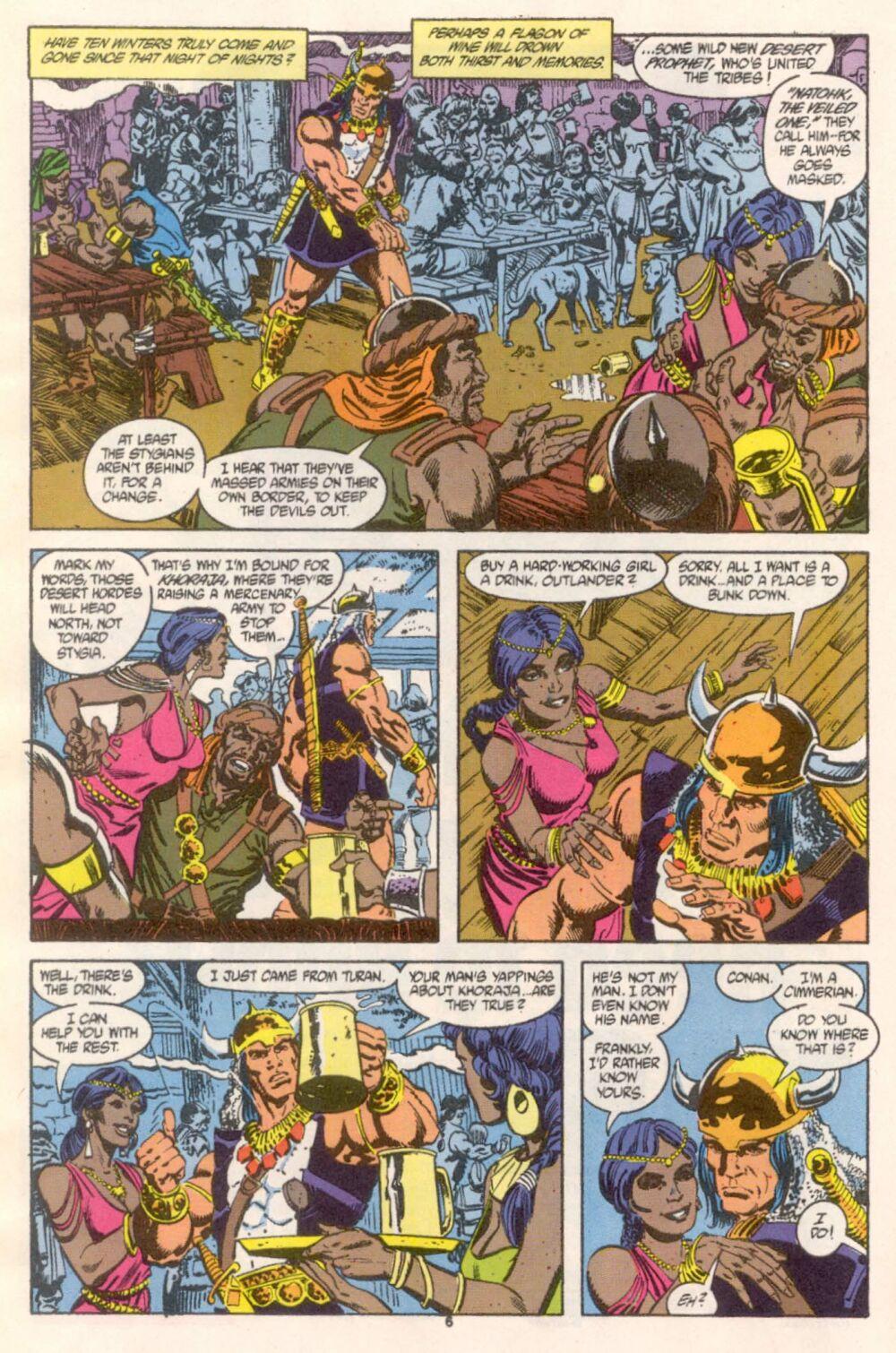 Conan the Barbarian (1970) Issue #241 #253 - English 6