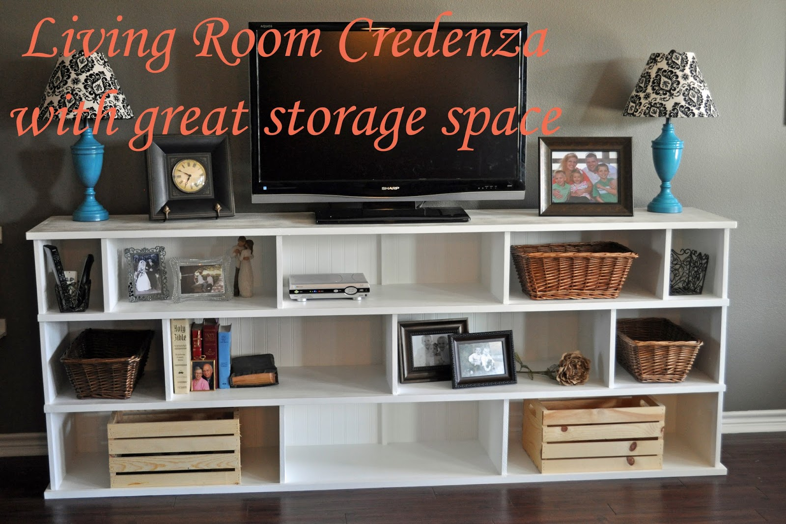 Right Where We Are Living Room Credenza With Great Storage Space