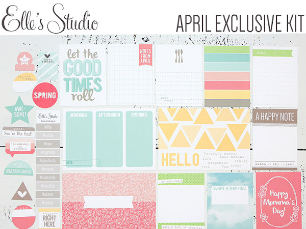 Elle's Studio Design Team : April Kit